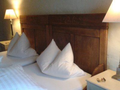 zweites Doppelzimmer der Ferienwohnung