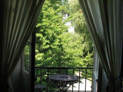 Balkon der Fürstensuite, unerer Hochzeitssuite