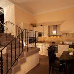 voll ausgestattete Küche in der Ferienwohnung Schloß Gehrden